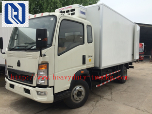 الصين SINOTRUCK 5-7 TONS  LIGHT TRUCK Cummins engine ISF2.8;129HP 2080 Single cabin and WLY6T46 GEARBOX المزود